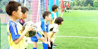 ~サッカーキャンプ練習初日~